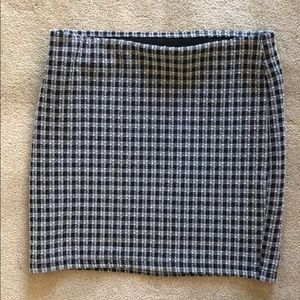 Plaid Zara Mini Skirt
